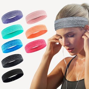 Unisex Hair Bands High Quality Sport Elastic Headbands Sports Yoga Accessory Dance Biker Wide Headband Stretch Ribbon Ap3