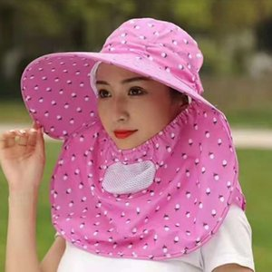 Dayan sunshade female summer sunscreen cover face tea collecting cool outdoor cycling sun hat tide