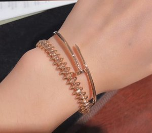 The first arrival fashion jewelry and elegant ladie brand bracelet wristband crystal cuff gold ladies couple boutique gift