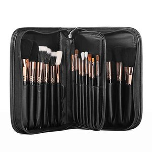 Zipper Cosmetic Makeup Bag Travel Toiletry Brush Wash Case Big Capicity Beauty Container Pouch Storage Organizer Waterproof