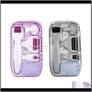 Drop Ship 6 In 1 Derma Kit Titanium Dermaroller Micro Needle Facial For And Body U7Bpg Beauty Zbnsd