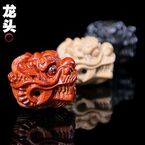Faucet Diy Accessories, Wooden Literary Sculpture Dragon Tee Accessories