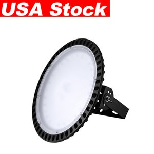 100W UFO High Bay Warehouse Lights LED Shop Lighting 6000K, Waterproof Dust Proof IP65 for Factory Stock In USA