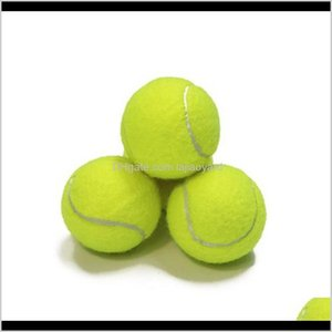 Balls Training Standard Rubber Good Bounce 13 Meters Durable Tennis Playing Official Neon Yellow Sport Ball No Logo Phsjj C3Tbf