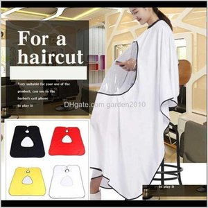 Aprons Waterproof Display Window Hairdressing Hairdresser Cloth Hair Cutting Gown Barber Cape Cover Home Kitchen Aprons1 Fvbhd Opmbu