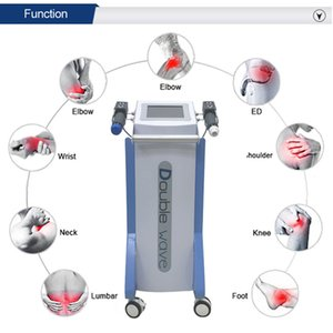 Professional Vertical 2 Handles ED Treatment Health Gadgets) Shock Wave Equipment Body Massage Electromagnetic Shockwave Machine