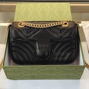 Sheepskin Leather Bags Handbag Purses Evening Bag Chian Strap Serial Number Date Code BOX