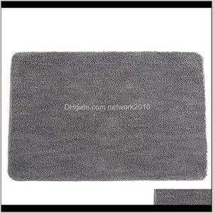 Anti-Slip Microfiber Mat Bathroom Soft Carpet Comfortable Bath Pad Absorbent Dry Fast Design Shower Rugs Toilet Door Mats Easy To J0Nj 8Gjai