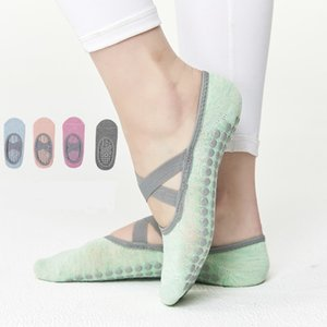 Pure Cotton Dot Silicone Non-slip Women High Quality Pilates Socks Breathable Yoga Socks Ballet Dance Sports Socks for Fitness 1050 Z2