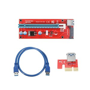 0.6m USB 3.0 PCI-E Express motherboard 1x to16x Extension Cable Extender Riser Board Card Adapter Cables For Mining