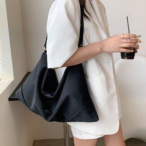 HBP Fashion Women's Casual Shopping Bag Large Capacity Wild Canvas Shoulder Bag Trend Student Diagonal Tote Bag