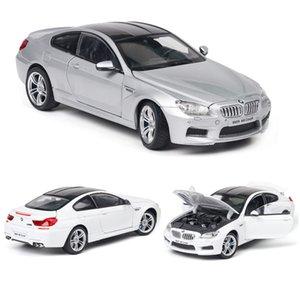 124 BMW-M6 Car Model Alloy Car Die Cast Model Toy Car Kid Toy BirthdayChristmas Gifts