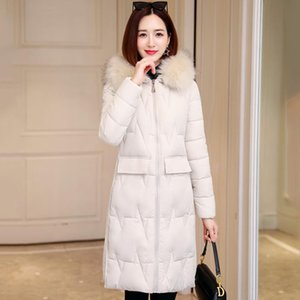 Korean Style Winter Jacket Women Hooded Cotton Padded Oversived Female Coat Nicesnowl Outwear Fashion Warm Women's Down & Parkas