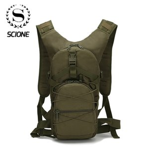 Scione Outside Military Army Green Backpack Waterproof Oxford Casual Camouflage Travel Bag Womens Traveling Backpack Bag LJ210203