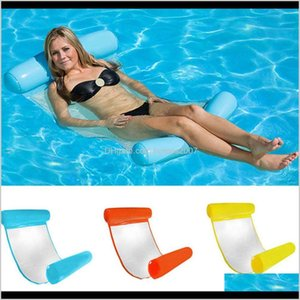 Other Spashg Spas Patio, Lawn Garden Home & Garden Swimming Pools Water Hammock Lounge Chair Summer Inflatable Pool Float Floating Bed Wx9-5