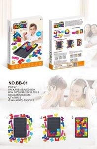 Fidget Toys Tetris Jigsaw Puzzle Decompression Reliver Stress Anti-stress Bubble Sensory to Relieve Autism 27PCS