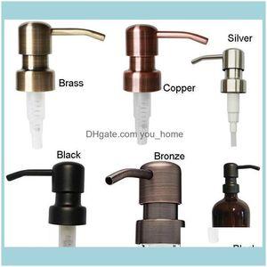 Soap Aessories Bath Home & Gardensoap Dispenser Black Copper Brass Bronze Rust Proof 304 Stainless Steel Liquid Pump For Kitchen Bathroom Ja
