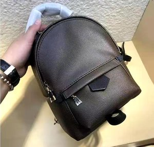 HH Printing Leather Backpacks Fashion Lady Genuine Women 41562 Mini Backpack Womens Handbags Handbag Clutch Totes Crossbody Bag 61105 Shoulder Bags Wallets