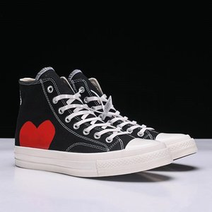 1970s Canvas Athletic Shoes Classic Campus Joker Jointly Name CDG Play Big Eyes Casual Training Sneakers Rubber With Gifts