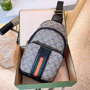 Luxurys Shoulder Handbags High quality Designer Chest bags Fashion Waist Bag Men and Women Cross Body Purse GGletter Printed 2colors