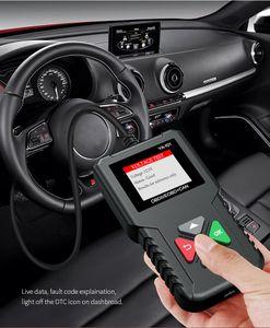 2021 Yeni OBD2 Tarayıcı Araba Motor Arıza Dedektörü Evrensel Arabalar için Otomatik Teşhis Alet Kod Okuyucu Çoklu Dil DTC ECU