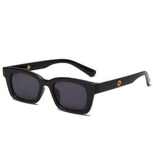 Солнцезащитные очки Ретро Женщина Прямоугольник Глаз для Женщин Корейский хип-хоп Симпатичные Модные CMAOS Бренд Винтаж Поликарбонат Вождение Oculos