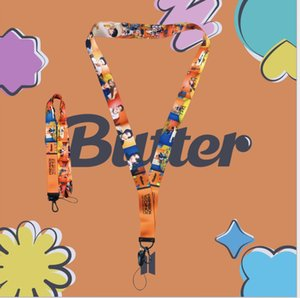 10pcs lot bts butter phone straps keychain