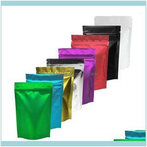 Organização de limpeza Home Gardenchristmas Custom Plastic Presente Sacos De Alumínio Folha Mylar Stand up Solicável Ano Packaging1 Armazenamento Dr