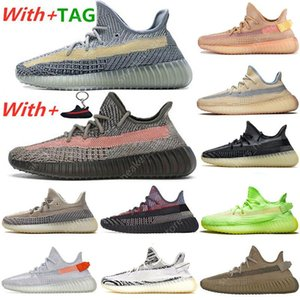 Yeezy 350 V2 Running Shoes Belgua Bred Asriel Israfil Cinder Earth Zyon Cid Zebra Yecheil Static Reflective Sports Trainers Sneakers