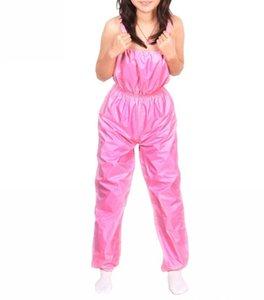 Женские комбинезоны Rompers 2021 потери веса для похудения брюки сауна повседневные женщины свободные ремешки спагетти пассуит моды