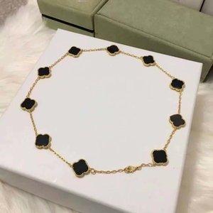Designer Women Necklaces Love cleef Pendant earring Screw clover necklace Party Van Bracelet Wedding Couple Gift Fashion Luxury
