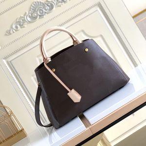 MONTIGNE Bag Date code Women Luxurys Designers Bags 2021 Genuine Leather Handbags Purse Wallet clutch shoulder messenger cross body