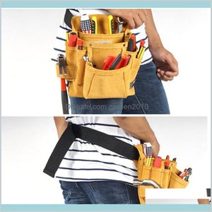 Tool Bag Tools Packaging Home & Garden Cowhide Waist Pouch Belt For Woodworking Electrician Carpenter Construction Hardware Screwdrive