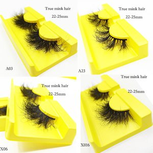 Real Mink eyelashes eyelash Vendor 3D long full Lash factory direct 100% cruelty free luxury 25mm fluffy eye lashes dense fast ship for wholesale custom packaging case