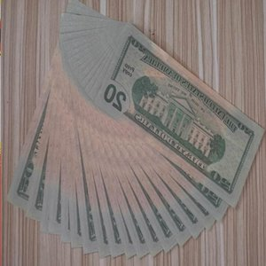 100 Or Copy Money Dollar Most Banknote Game Prop Kids Family Paper US Realistic Toy013 Gidik