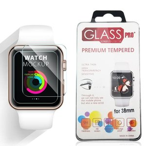 2.5D 9H Tempered Glass Screen Protector Films 42MM 38MM For Apple iWatch Series 5 4 3 2 1
