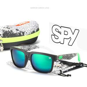 Occhiali da sole Polarizzati Spy Occhiali da sole Uomini Donne Ken Block Happy 43 Quadrato Vintage Retro Anti-riflettente Occhiali da sole Occhiali da sole Gafas de Sol