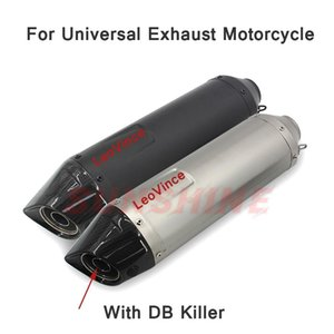 Escape Moto 51mm Motorcross Exhaust Motorcycle Modified Muffler Pitbike DB Killer Racing Pipe For MT09 RC390 Z750 ER6N ZX10R ATV System