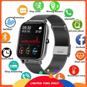 FREE Lge 2020 new color screen p8 female digital clock complete touch of fitness tracker female blood pressure smartwatch for xiaomi