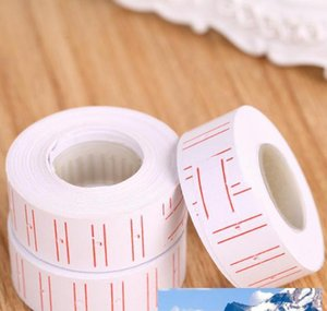 Labels Tags 10 Rolls Set Price Label Paper Tag Tagging Pricing For Gun White 500Pcsroll 57Hie 6Hbw8