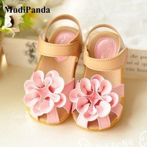 Kids shoes Girls 2020 New Summer Female Child Girls Sandals Flower PVC Princess Baby Girls Shoes fashion sandals LJ200827