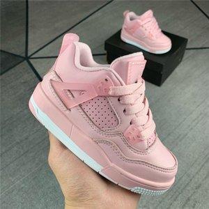 Nike Air Jordan 4 WL Retro AJ4 2021 الرضع 1s أنا طفل صغير كرة السلة الصنوبر الأخضر لعبة رويال سكوتس سبج شيكاغو bred أحذية رياضية ميلودي منتصف متعدد الألوان التعادل صبغ أحذية أطفال