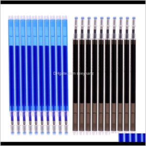 Notions Apparel Drop Delivery 2021 20Pcsset High Temperature Disappearing Refill Pens Heat Erase Sewing Tools Bvupa