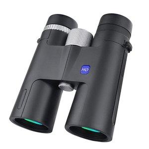 12x42 Binoculars High Power Definition With BAK4 Lens Outdoors Waterproof Hand Held Telescope Lenses