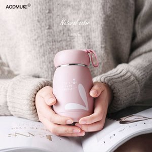 330ML Thermos Bottle Stainless Steel Thermal Cup Thermomug Water Bottle Vacuum Flasks Water terms for termo Animal mug bidon H0831