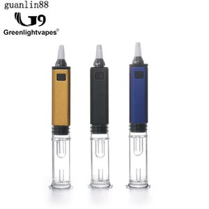 Original Greenlightvapes G9 GDIP Dipper Dab Vaporizer Pen 1000mAh Battery Ceramic and Quartz Vapor Tip Atomizer Wax Vape Pen