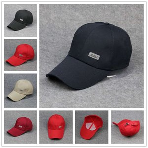 Selling Top Men's Baseball Letter Sticker Solid Color Truck Outdoor Leisure Fishing Cap