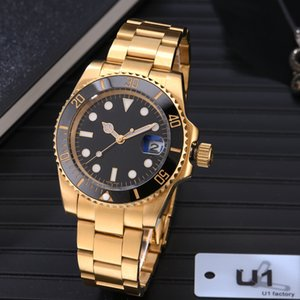 U1 AAA+ Quality Ceramic Bezel Mens watches Automatic Mechanical 2813 Movement Watch Luminous Sapphire Waterproof Sports Self-wind Fashion Wristwatches Gifts