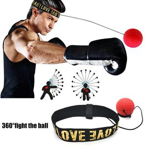 Boxing Reflex Speed Punch Ball Head Band Fighting Speed Training Punch Ball boxing Muay Tai MMA Exercise Equipment Accessories