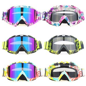 Bike Racing Eyewear Glasses Outdoor Motorcycle Cycling Off-Road Ski Sport ATV Dirt Motocycle Goggle for Fox Motocross Goggles